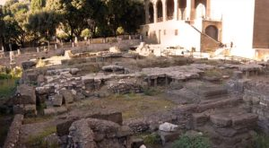 area archeologica di sant'omobono roma