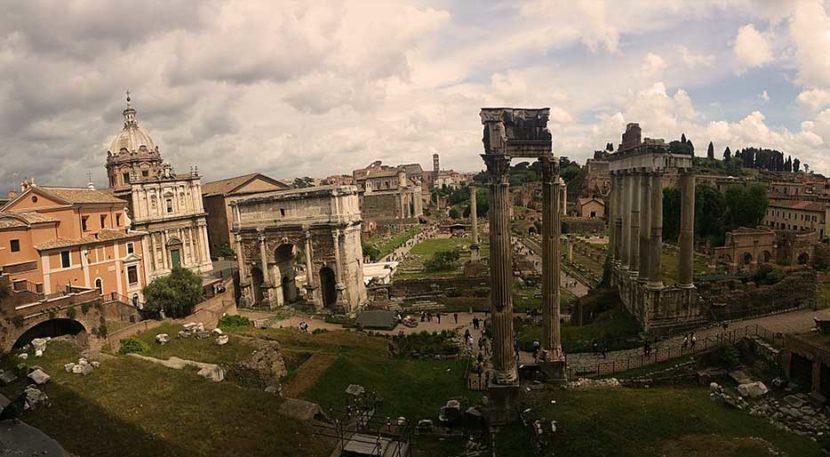 Foro romano e il Palatino