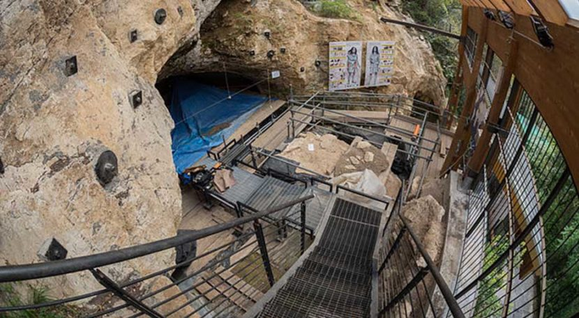 grotta da fumane