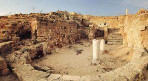 canne della battaglia vista sul parco archeologico