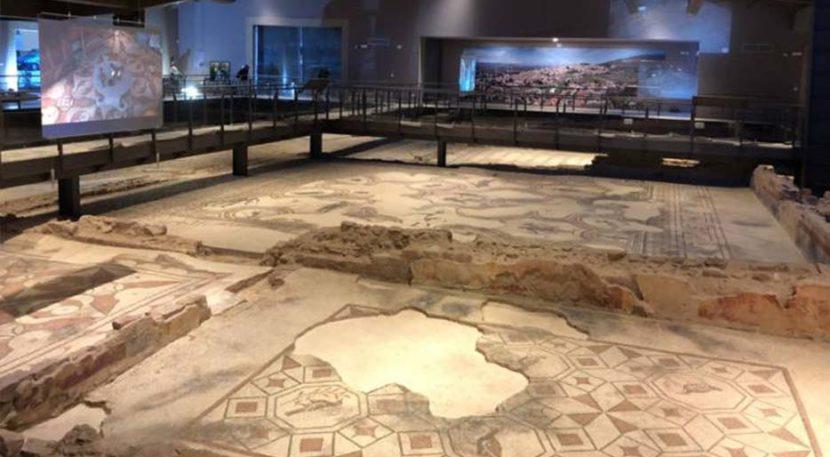 villa dei mosaici di spello