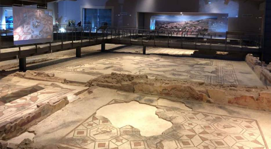 villa mosaici spello