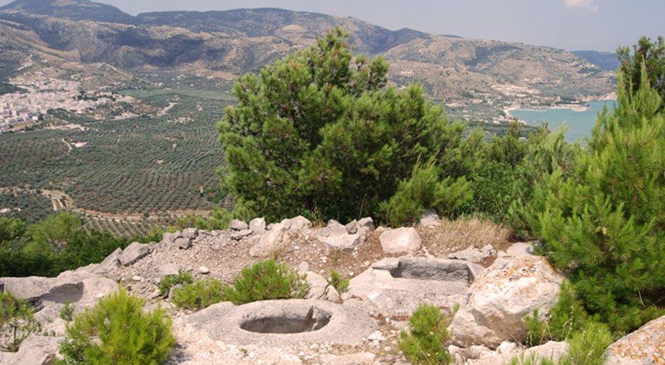 necropoli monte saraceno