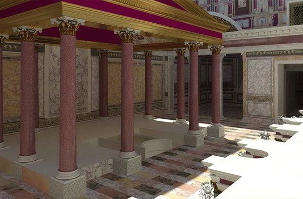 domus transitoria roma