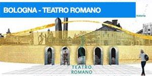 locandina visita guidata al teatro romano di bologna