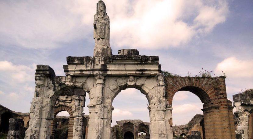 Capua antica, resti dell'anfiteatro romano