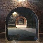 Veduta dell'interno delle Cisterne romane di Fermo