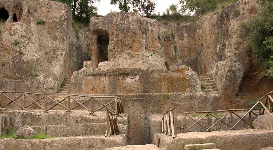 necropoli etrusca di Sovana