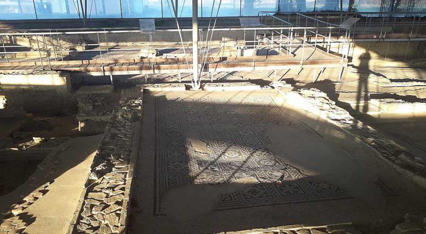 mosaici della villa romana dei Coiedii a Suasa Senonum