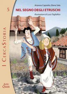 copertina libro, nel segno degli etruschi