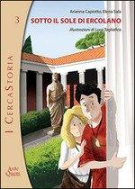 Copertina libro Cercastoria - Sotto il sole di Ercolano
