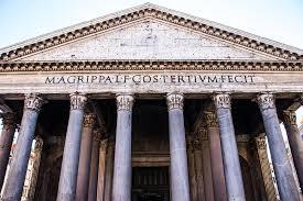 facciata del Pantheon