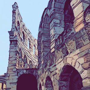 Arena di Verona vignetta