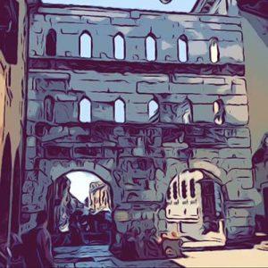 Porta borsari a Verona Vignetta