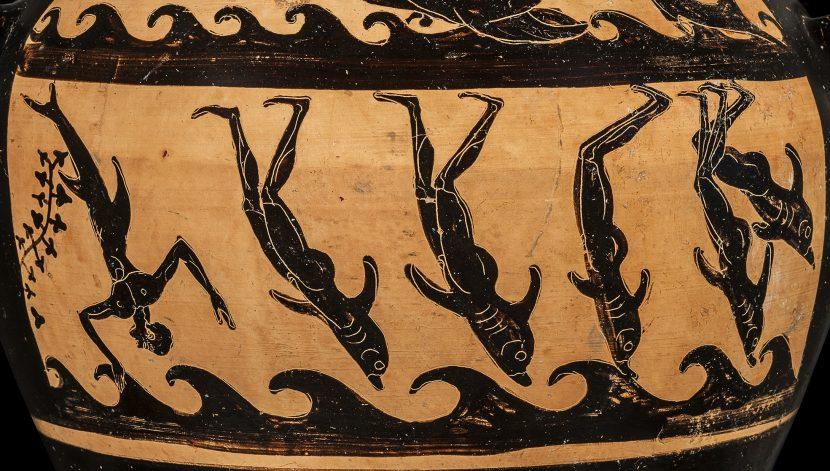 dettaglio hydria etrusca pittore di micali