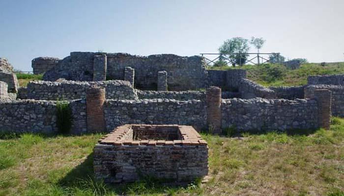 paroc archeologico di Aeclanum, Avellino