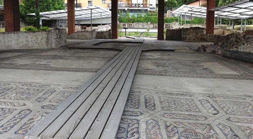 villa romana di desenzano del garda