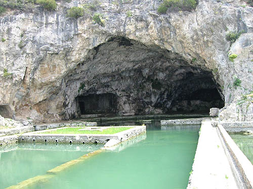 grotta di Tiberio a Sperlonga