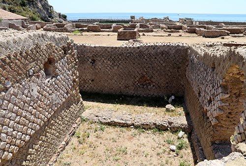 resti villa di tiberio sperlonga