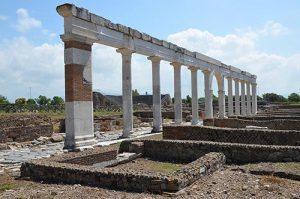 resti dell'antica minturnae