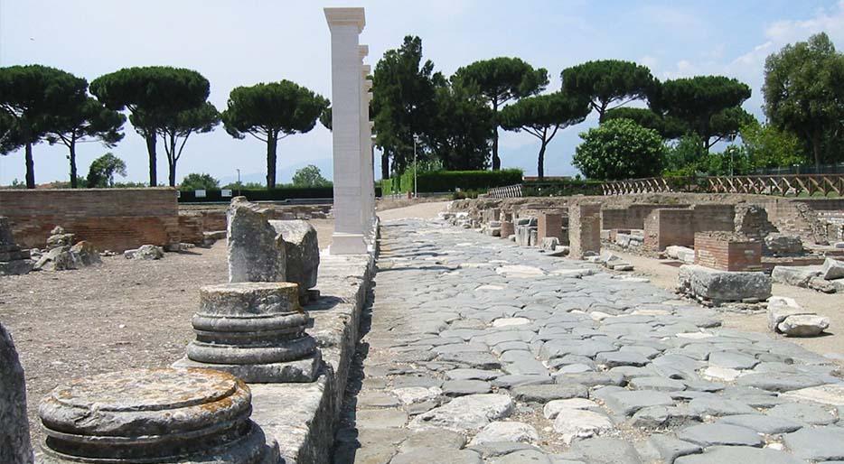 sito archeologico di minturno