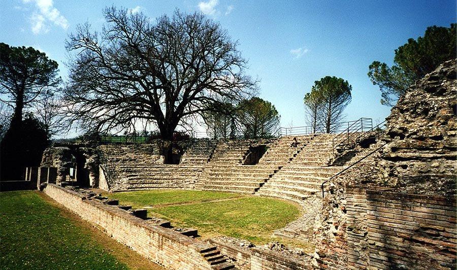 sito archeologico di falerio picenus